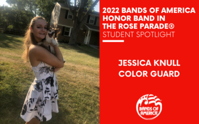 BOA Honor Band in the Rose Parade Student Spotlight: Jessica Knull