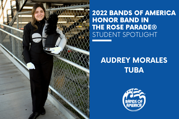 BOA Honor Band in the Rose Parade Student Spotlight: Audrey Morales