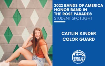 BOA Honor Band in the Rose Parade Student Spotlight: Caitlin Kinder